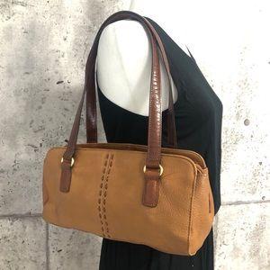 Vintage Fossil Genuine Leather Shoulder Bag